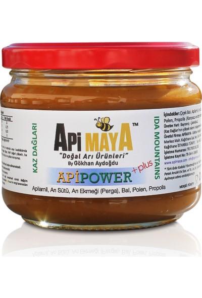 ApiPower PLUS 325 gr; Ham Bal, Apilarnil, Propolis, Taze Polen, Arı Sütü, Arı Ekmeği - Perga