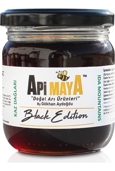 Black Edition - Kaz Dağları Siyah Bal 250 gr