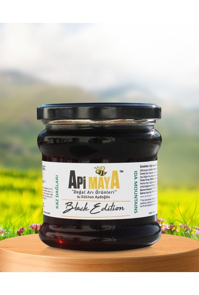 Black Edition - Kaz Dağları Siyah Bal 450 gr