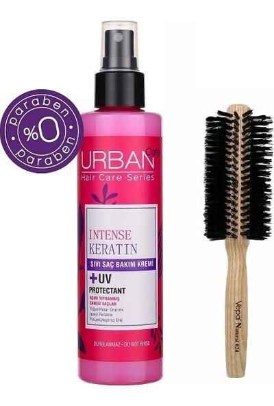 Urban Care Yoğunlaştırılmış Keratin Içeren Sıvı Krem 200 Ml+Doğal Saç Fırçası