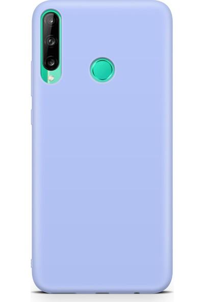 Huawei P40 Lite E Içi Kadife Lansman Kılıf