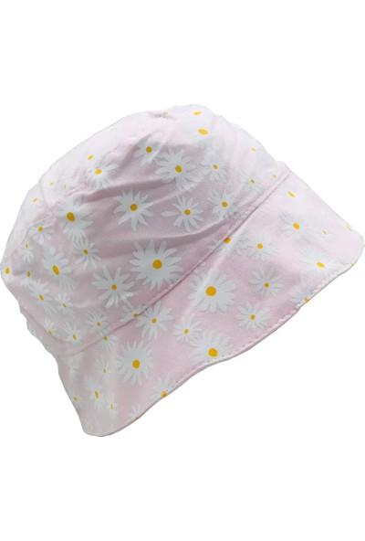 Bilgefil Bebek Bilgefil Yazlık Bebek Şapka 0-9 Ay Papatya