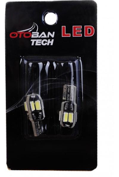 Otoban T10 Park-Plaka-Tavan LED Dipsiz 8 Smd Yaprak 12 V Canbus B