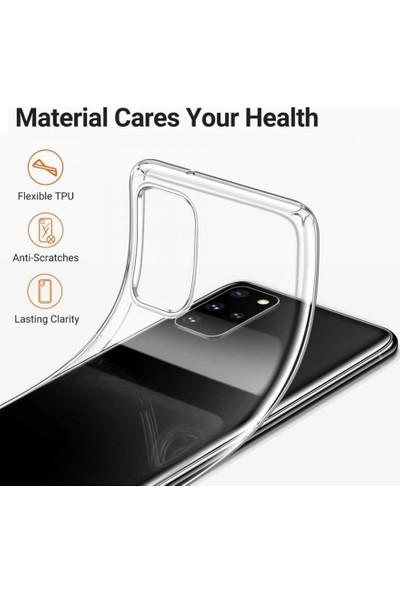 Piyasa Sepeti Samsung Galaxy S10 Ultra Ince Silikon Kılıf Şeffaf