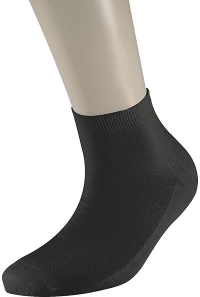 Fandd Erkek Bambu Özel Tasarım Yarım Konç Çorap Kokulu 4 Adet