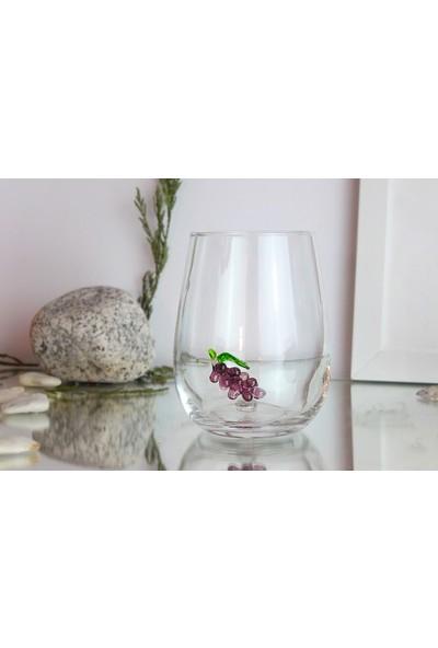 Adamodart Üzüm Figürlü Tekli Su Bardağı