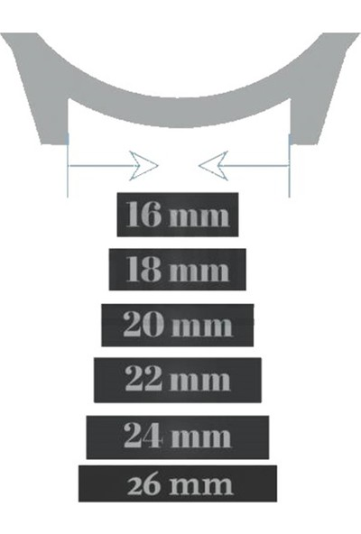 Esprit Saat Uyumlu Klasik Hakiki Deri Klipsli Saat Kordonu Kayışı