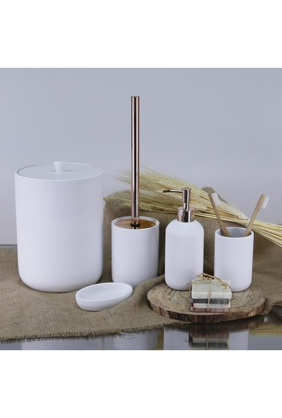 Selim Elegance Banyo Seti Beyaz Sbny 130BYZ15RS