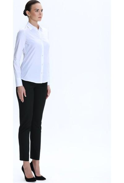 Demet Şener İstanbul Demet Şener Beyaz Klasik Gömlek