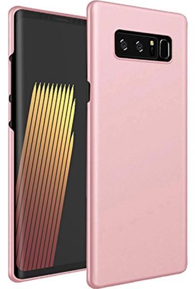 Vinn Mood Samsung Note 8 Uyumlu Rose Gold Ince Soft Premier A+ Slikon Mat Kılıf Oil Arka Kapak Rose Gold