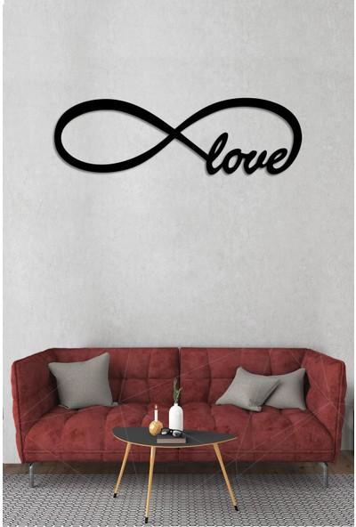 Dekolia Sonsuz Love Ahşap Mdf Dekoratif Tabo ART1221