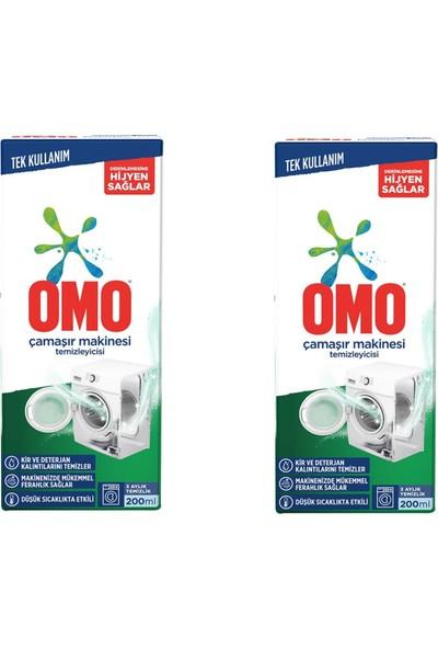 Omo Camasır Makınesı Temızleyıcısı 200 ml x 2