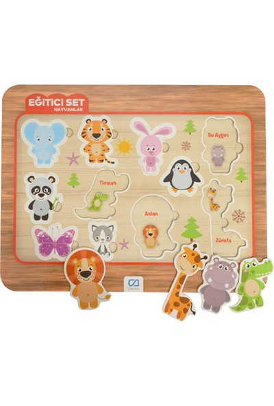 Ca Games +3 Yaş Eğitici Puzzle Hayvanlar