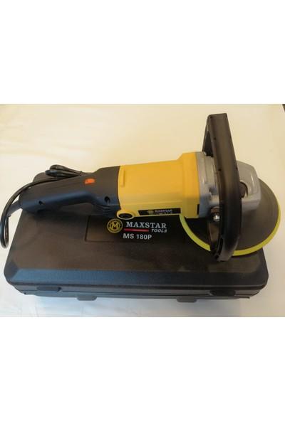 Maxstar 1200 Watt 6 Kademeli Devir Ayarlı Polisaj Pasta Cila Makinası Çantalı
