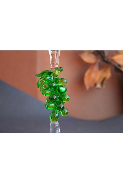 Adamodart Yeşil Üzüm Salkım Tasarım Sunumluk