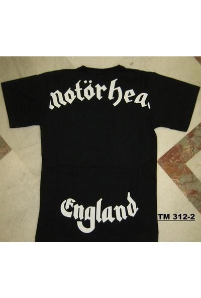 Motörhead England Siyah Erkek Tişört