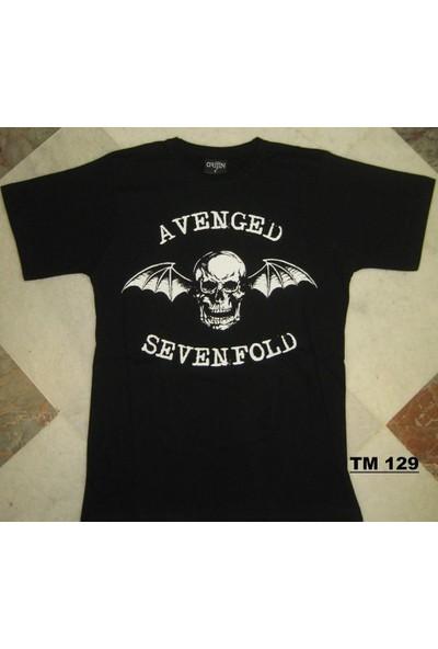 Avenged Sevenfold Logo Tişört