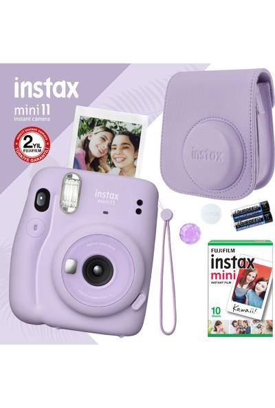 Fujifilm Instax Mini 11 Lila Fotoğraf Makinesi Seti 3
