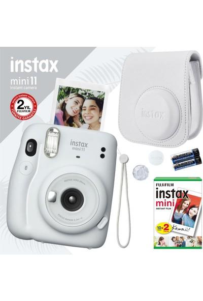 Fujifilm Instax Mini 11 Beyaz Fotoğraf Makinesi Seti 4