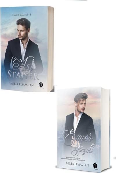 Asi Stajyer & Esmer Güzeli (2 Kitap Takım ) - Melek Elmas Tan