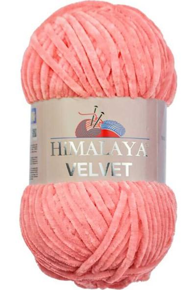 Himalaya Velvet Kadife Ip 90046 Gül Pembe