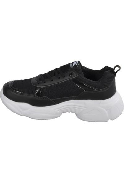 Jagulep Elena Siyah-Beyaz Unisex Spor Ayakkabı