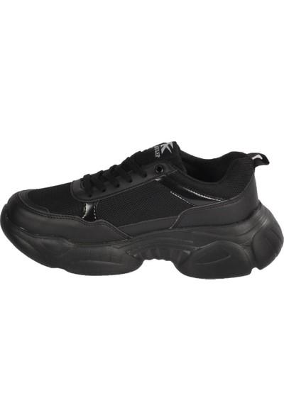 Jagulep Elena Siyah-Siyah Unisex Spor Ayakkabı