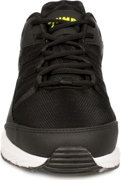 Jump 24865 Siyah-Yeşil Erkek Spor Ayakkabı