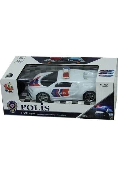 Bir-Can Bircan Oyuncak Uzaktan Kumandalı Pilli Polis Arabası 1:24