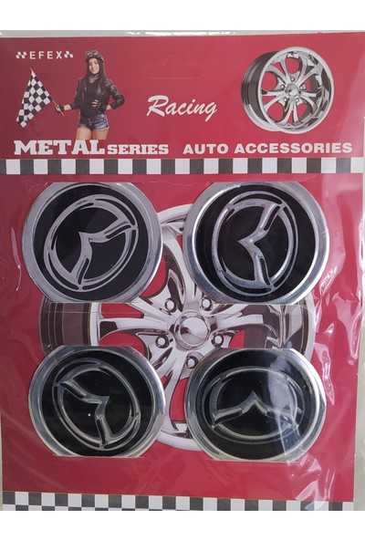 Birkan Jant Sticker Kabartmalı Mazda