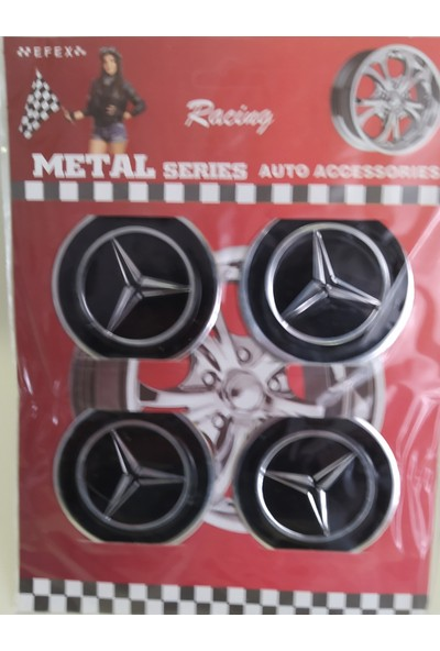 Birkan Jant Sticker Kabartmalı Mercedes