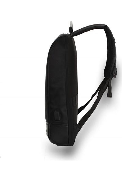 My Valice Smart Bag USB Şarj Girişli Akıllı Sırt Çantası 1211 Siyah