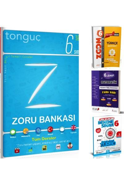 Tonguç 6. Sınıf Tüm Dersler Zoru Bankası + 6. Sınıf Seçme Denemeler