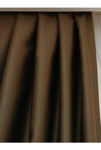 Laris Kahverengi Blackout Perde