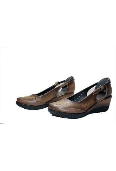 Mavişim 605 Dolgu Topuklu Kadın Ayakkabı
