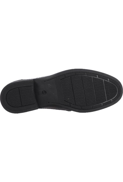 Dr.flexer 028502 Siyah Erkek Günlük Hakiki Deri Ayakkabı