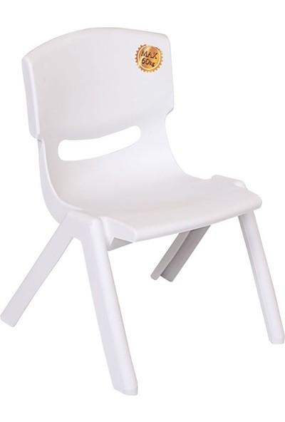 Romanoset Plastik Bambino Renkli Plastik Çocuk Sandalyesi
