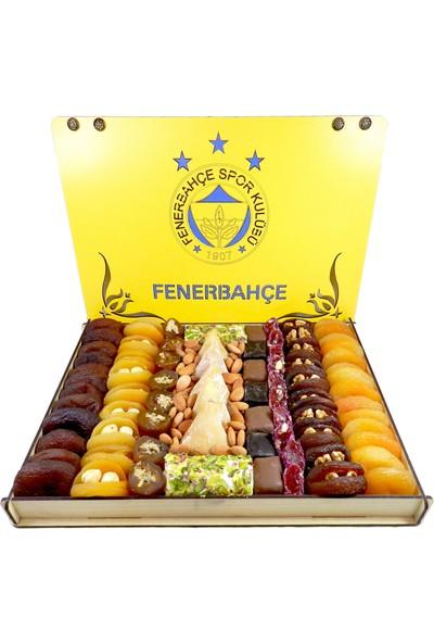 Kayısı Alemi 1,5 kg Fenerbahçe Taraftar Kuru Kayısı Paketi