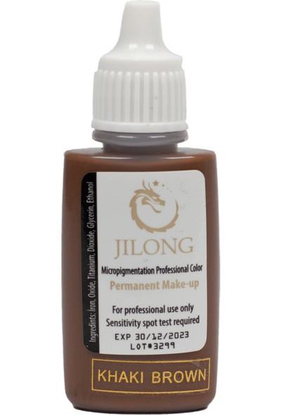 Jilong Kalıcı Makyaj Pigmenti Khaki Brown 25 ml