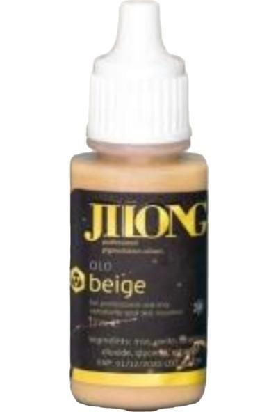 Jilong Microblading ve Kalıcı Makyaj Boyası Beige 17 ml