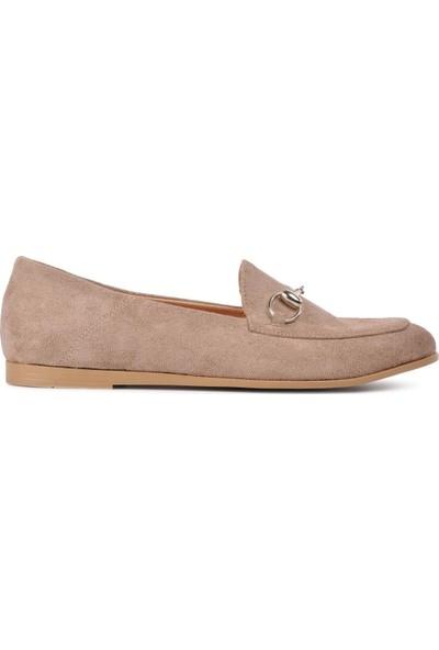 Park Fancy 90 Vizon Nubuk Kadın Günlük Ayakkabı