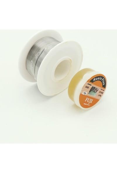 Fuji Lehim Teli ve Lehimleme Pastası 40/60 1 mm