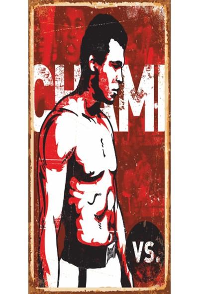 Hayal Poster Muhammet Ali Mini Retro Ahşap Poster