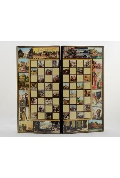 Frame Özel Tasarlanmış Osmanlı Tavla