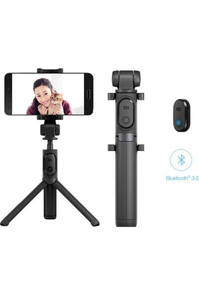 Xiaomi Selfie Çubuğu Tripod Bluetooth Uzaktan Kumandalı Telefon Kamera - Siyah