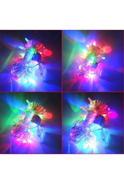 Sunlight Iç Mekan LED Aydınlatma Rgb Animasyonlu Şeffaf Kablo 5m Ip Yılbaşı Süs
