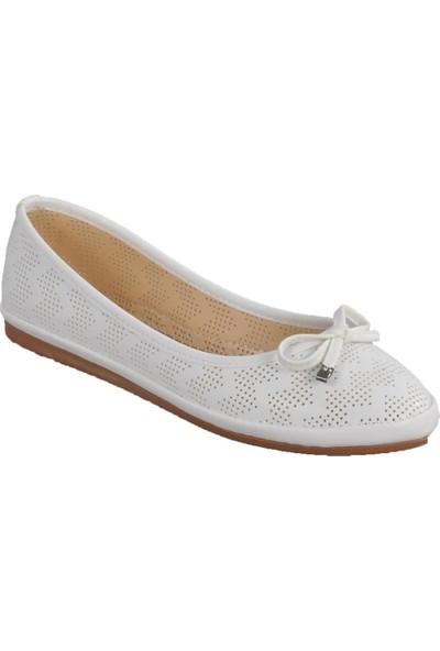 Park Fancy 155537 Beyaz Kadın Günlük Ayakkabı