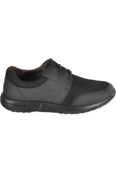 Esse 28685 Siyah Erkek Günlük Deri Ayakkabı
