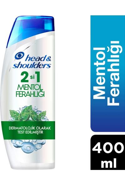 Head & Shoulders 2'si 1 Arada Kepek Karşıtı Şampuan Mentol Ferahlığı 400 ml