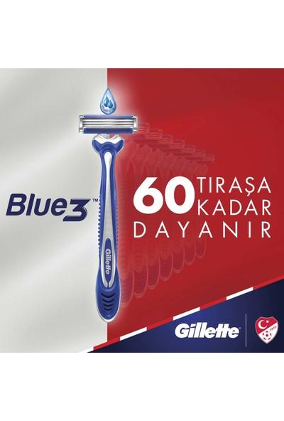 Gillette Blue3 Ice 6'lı Kullan At Tıraş Bıçağı